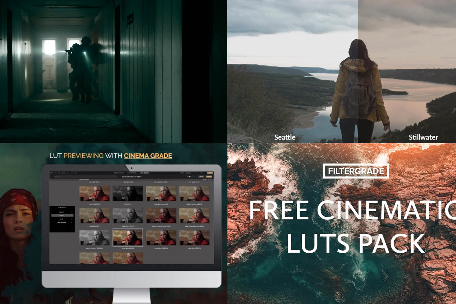 266 Free Cinematic LUTs